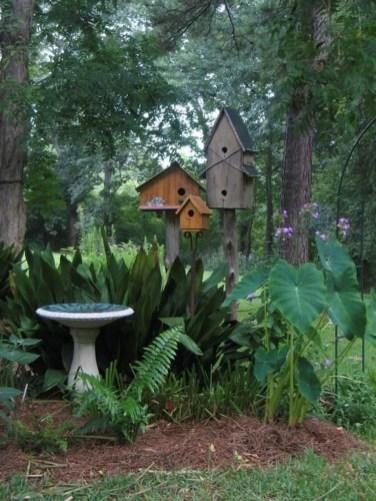 Bird Bath Design Ideas For Your Backyard Inspiration44