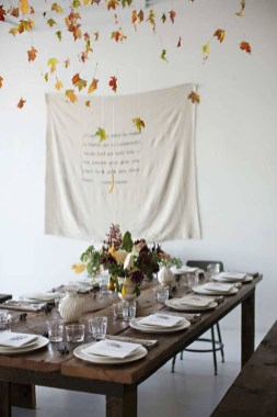 Cheap Diy Thanksgiving Decoration Ideas For Your Apartment09