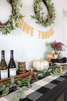 Cheap Diy Thanksgiving Decoration Ideas For Your Apartment25