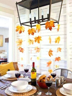 Cheap Diy Thanksgiving Decoration Ideas For Your Apartment43