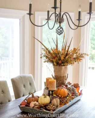 Cheap Diy Thanksgiving Decoration Ideas For Your Apartment44