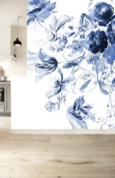 Fabulous Rose Wall Painting Design Ideas For You To Try In Home02