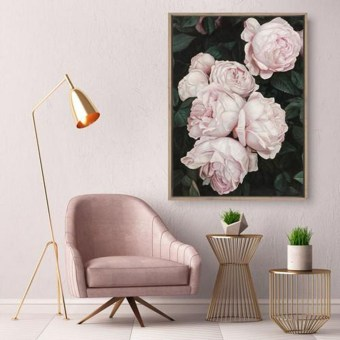 Fabulous Rose Wall Painting Design Ideas For You To Try In Home12