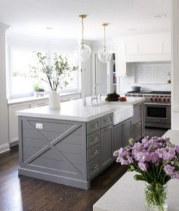 Impressive Gray And Turquoise Color Scheme Ideas For Your Kitchen03
