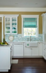 Impressive Gray And Turquoise Color Scheme Ideas For Your Kitchen05
