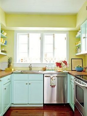 Impressive Gray And Turquoise Color Scheme Ideas For Your Kitchen08