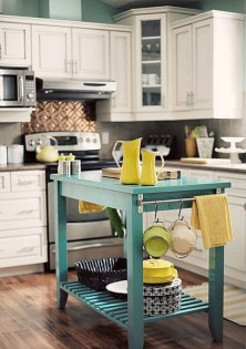 Impressive Gray And Turquoise Color Scheme Ideas For Your Kitchen20