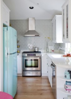 Impressive Gray And Turquoise Color Scheme Ideas For Your Kitchen22