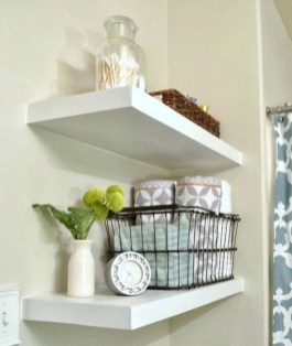 Interesting Floating Wall Shelves For Your Bathroom Style Ideas12