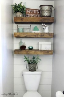 Interesting Floating Wall Shelves For Your Bathroom Style Ideas14