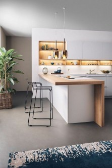Modern Minimalist Kitchen Design Makes The House Look Elegant03