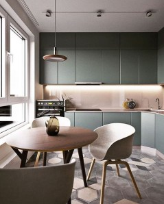 Modern Minimalist Kitchen Design Makes The House Look Elegant20