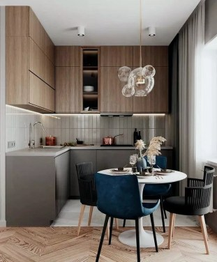 Modern Minimalist Kitchen Design Makes The House Look Elegant27