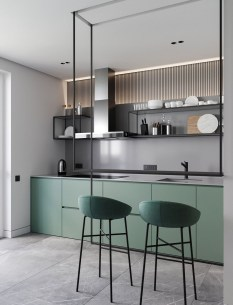 Modern Minimalist Kitchen Design Makes The House Look Elegant28