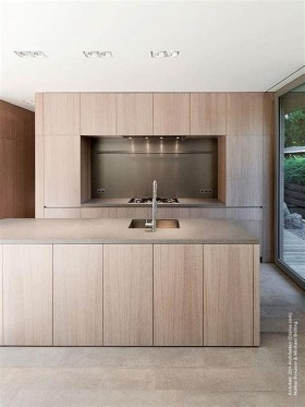 Modern Minimalist Kitchen Design Makes The House Look Elegant35