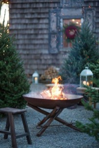 Perfect Fire Pit Design Ideas For Winter Season Decoration19