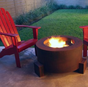 Perfect Fire Pit Design Ideas For Winter Season Decoration26