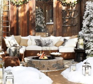 Perfect Fire Pit Design Ideas For Winter Season Decoration30