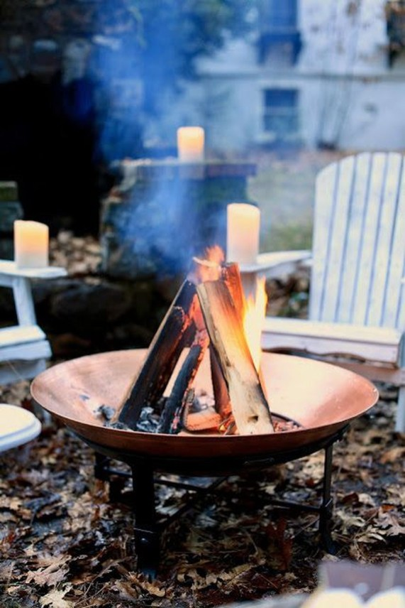 Perfect Fire Pit Design Ideas For Winter Season Decoration36