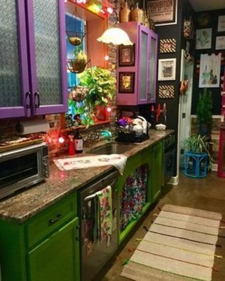 Wonderful Bohemian Kitchen Ideas To Inspire You09