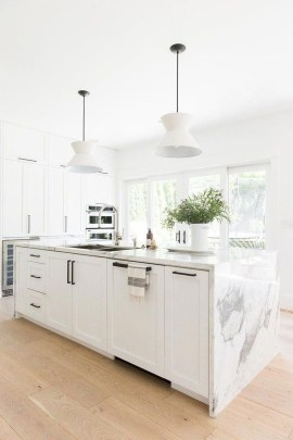 Adorable White Kitchen Design Ideas07