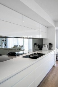 Adorable White Kitchen Design Ideas32