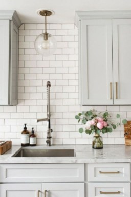 Adorable White Kitchen Design Ideas45