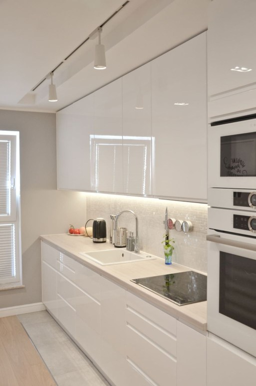 Adorable White Kitchen Design Ideas47