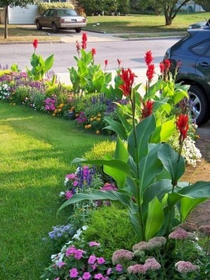 Beautiful Flower Beds Ideas For Home36