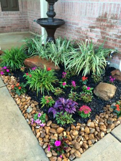 Beautiful Flower Beds Ideas For Home40