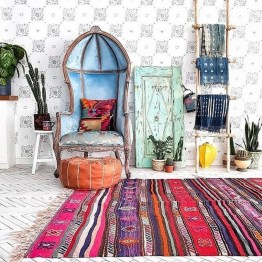 Charming Boho Living Room Decorating Ideas With Gypsy Style29