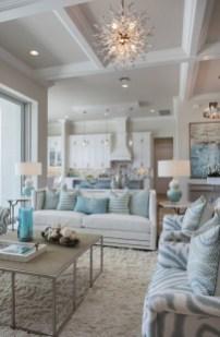 Elegant Coastal Themed Living Room Decorating Ideas04