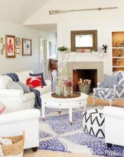 Elegant Coastal Themed Living Room Decorating Ideas05