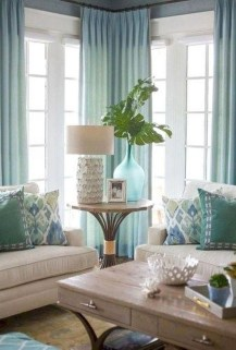 Elegant Coastal Themed Living Room Decorating Ideas13
