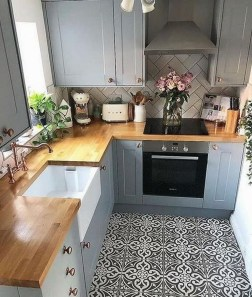 Enchanting Kitchen Design Ideas For Small Spaces02