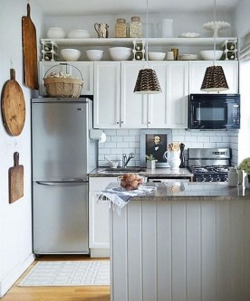 Enchanting Kitchen Design Ideas For Small Spaces07