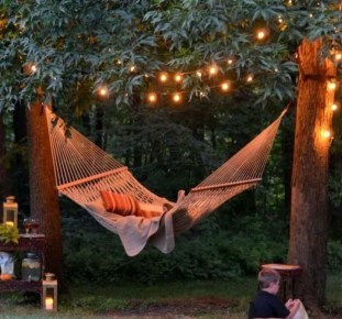 Impressive Backyard Lighting Ideas For Home32
