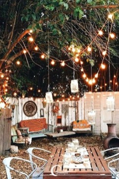 Impressive Backyard Lighting Ideas For Home34