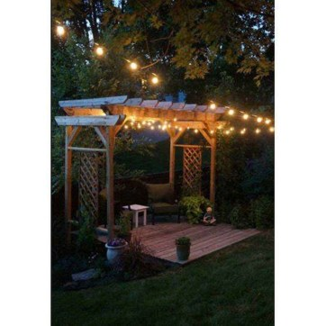 Impressive Backyard Lighting Ideas For Home36
