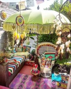 Inspiring Boho Outdoor Decorating Ideas For Backyard01