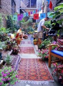Inspiring Boho Outdoor Decorating Ideas For Backyard22