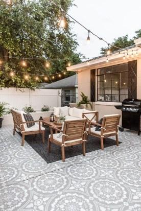 Inspiring Boho Outdoor Decorating Ideas For Backyard24