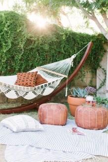 Inspiring Boho Outdoor Decorating Ideas For Backyard37