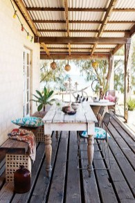 Inspiring Boho Outdoor Decorating Ideas For Backyard49