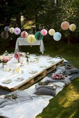 Outstanding Garden Party Decorating Ideas For Birthday17