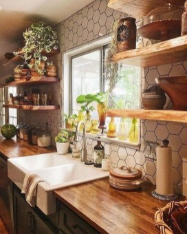 Pretty Farmhouse Table Design Ideas For Kitchen26