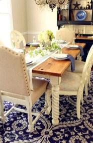 Pretty Farmhouse Table Design Ideas For Kitchen29