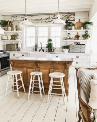 Pretty Farmhouse Table Design Ideas For Kitchen32