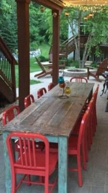 Pretty Farmhouse Table Design Ideas For Kitchen34