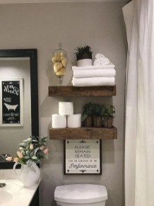 Vintage Farmhouse Bathroom Decor Design Ideas22